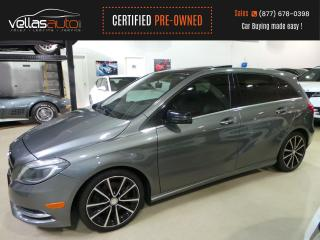 Used 2014 Mercedes-Benz B-Class SPORTS TOURER| NAVI| PANO RF| 18ALLYS for sale in Vaughan, ON