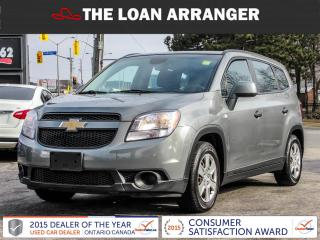 Used 2012 Chevrolet Orlando LS for sale in Barrie, ON