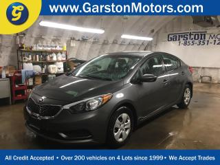 Used 2014 Kia Forte LX*KEYLESS ENTRY*POWER WINDOWS/LOCKS/MIRRORS*PHONE CONNECT*CLIMATE CONTROL*ECO MODE*TRACTION CONTROL*AM/FM/XM/CD/AUX/USB/BLUETOOTH* for sale in Cambridge, ON