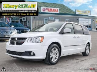 Used 2016 Dodge Grand Caravan Crew Plus. CLEAN FAMILY VEHICLE for sale in Tilbury, ON