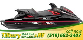 New 2018 Yamaha VXR BLACK/RED for sale in Tilbury, ON