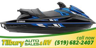 New 2018 Yamaha VXR BLACK/BLUE for sale in Tilbury, ON