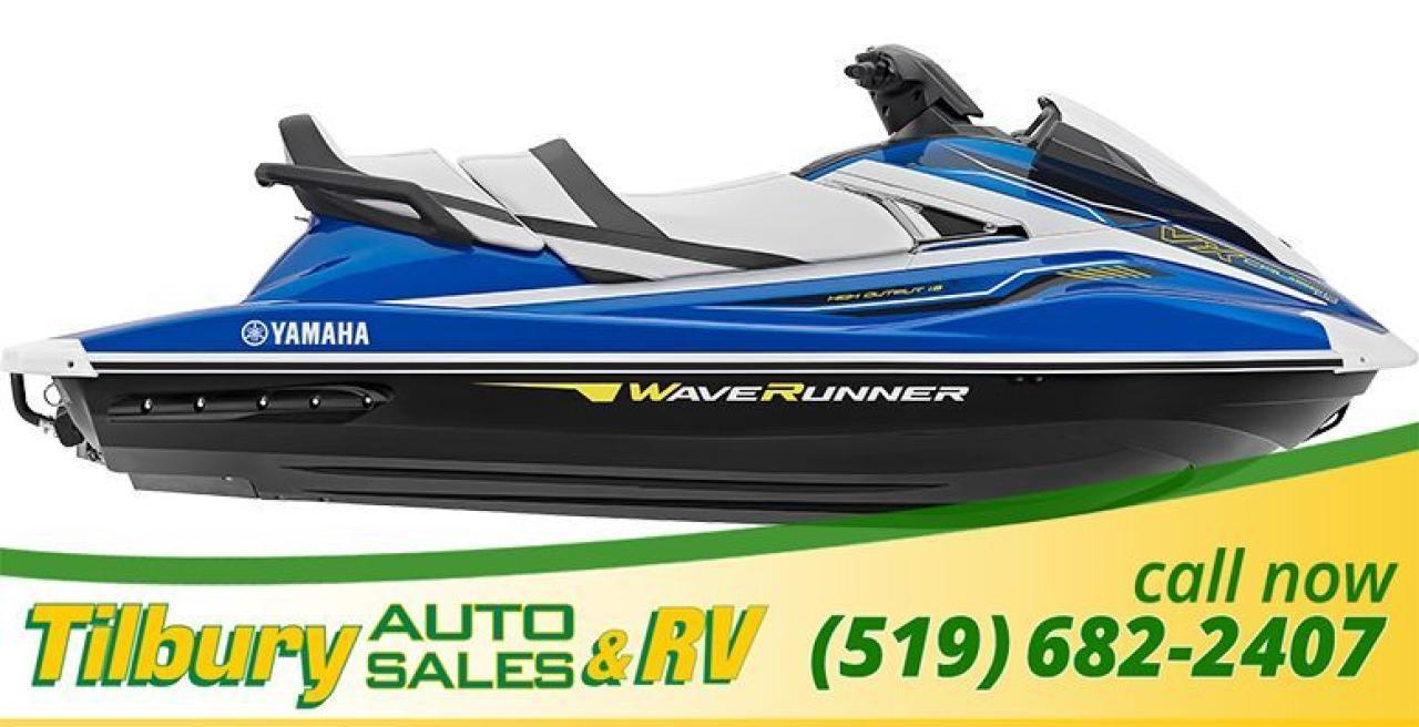 2018 Yamaha VX CRUISER HO WAVERUNNER. JETSKI. SEADOO.