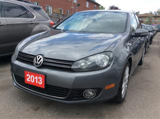 Used 2013 Volkswagen City Golf Wolfsburg Edition for sale in Scarborough, ON