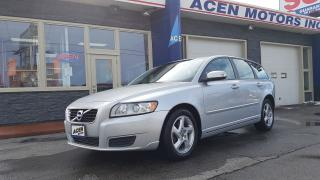 Used 2011 Volvo V50 LEVEL I for sale in Hamilton, ON