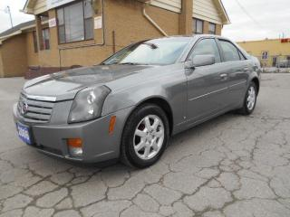 Used 2006 Cadillac CTS 2.8L V6 Loaded Leather Sunroof Certified 216,000Km for sale in Rexdale, ON