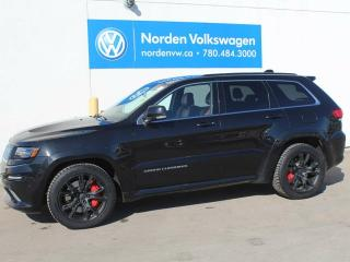Used 2015 Jeep Grand Cherokee SRT W/ LAGUNA LEATHER for sale in Edmonton, AB