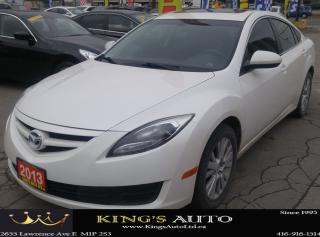 Used 2013 Mazda MAZDA6 GS, HEATED SEATS for sale in Scarborough, ON