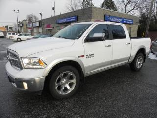 Used 2015 RAM 1500 Laramie * Diesel * Crew * Leather * Nav for sale in Windsor, ON