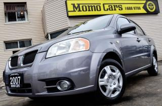 Used 2007 Pontiac Wave SE! Cruise+Sunroof+Keyless+A/C! for sale in St Catharines, ON