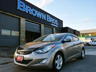 Used 2013 Hyundai Elantra GLS, Local, No accidents, Moonroof for sale in Surrey, BC