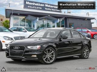 Used 2015 Audi A4 AWD TECHNIK PLUS S-LINE |NAV|CAMERA|HID|BLUETOOTH for sale in Scarborough, ON
