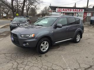 Used 2010 Mitsubishi Outlander AWD/Automatic/Clean Carproof/Gas Saver/Certified for sale in Scarborough, ON