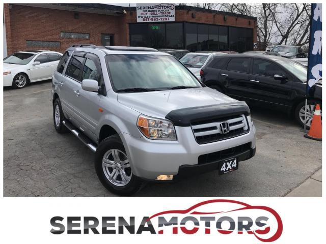 2007 Honda Pilot EX-L | 4WD | 8 PASS. | ONE OWNER | NO ACCIDENTS