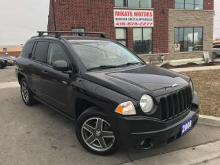 Used 2008 Jeep Compass sport 4x4 for sale in Etobicoke, ON