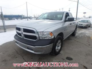 Used 2016 RAM 1500 SXT QUAD CAB 4WD for sale in Calgary, AB