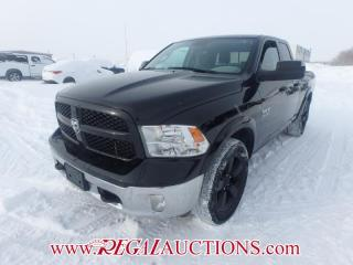 Used 2014 RAM 1500 OUTDOORSMAN QUAD CAB SWB 4WD 3.6L for sale in Calgary, AB
