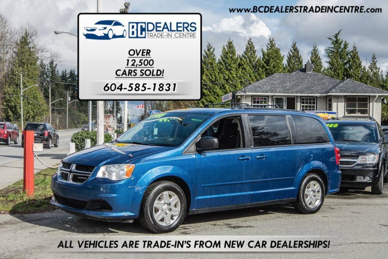 2011 Dodge Grand Caravan SXT Stow 'N Go, Local, No Accidents, Bluetooth!