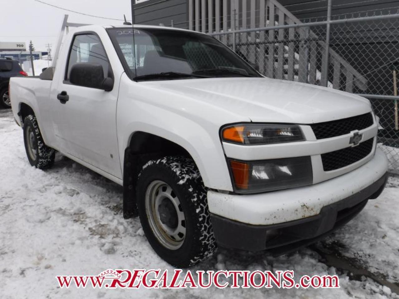 Photo of White 2009 Chevrolet COLORADO LT REG CAB 2WD