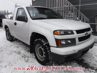 Used 2009 Chevrolet COLORADO LT REG CAB 2WD for sale in Calgary, AB