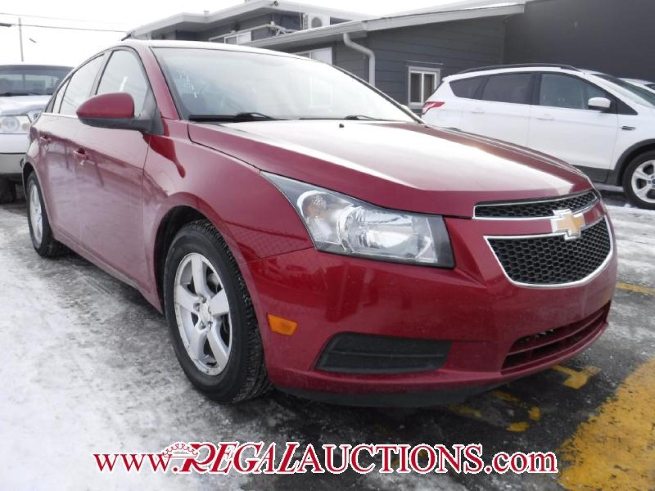 Photo of Red 2013 Chevrolet CRUZE LT 4D SEDAN TURBO