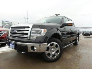 Used 2013 Ford F-150 LARIAT 5.0L V8 4WD for sale in Midland, ON