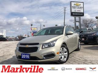 Used 2016 Chevrolet Cruze LT- GM CERTIFIED PRE-OWNED - 1 OWNER TRADE for sale in Markham, ON
