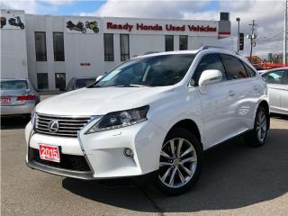 Used 2015 Lexus RX 350 Sportdesign for sale in Mississauga, ON