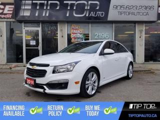 Used 2016 Chevrolet Cruze 2LT ** Rs Pkg, Leather, Sunroof, Remote Start ** for sale in Bowmanville, ON