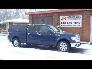 Used 2011 Ford F-150 Lariat Supercrew 4X4 - Absolutely Loaded for sale in Elginburg, ON