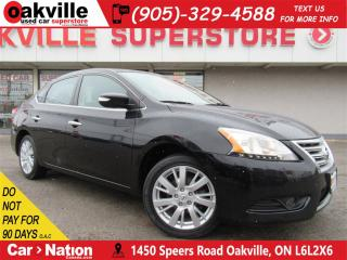Used 2014 Nissan Sentra 1.8 SL | LEATHER | B/U CAM | NAV | SUNROOF | A/C for sale in Oakville, ON