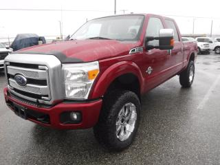 Used 2014 Ford F-350 SD Lariat Platinum Crew Cab 4WD Diesel short box for sale in Burnaby, BC