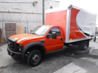 Used 2008 Ford F-450 SD Cube Van 14 foot Diesel Dully Power Tailgate for sale in Burnaby, BC