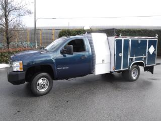 Used 2007 Chevrolet Silverado 3500HD Diesel Dually 4WD Service Box for sale in Burnaby, BC