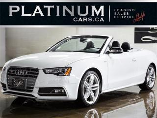 Used 2016 Audi S5 3.0T Quattro TECHNIK, CABRIOLET, NAVI, BANG&OLUF for sale in Toronto, ON