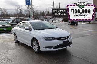 Used 2015 Chrysler 200 Limited - Bluetooth, Back Up Cam, Heated Seats for sale in London, ON