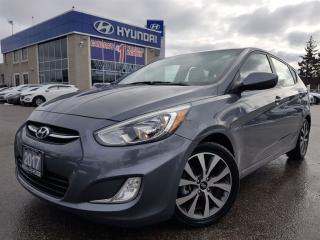Used 2017 Hyundai Accent SE-Alloy Rims and Sunroof for sale in Mississauga, ON
