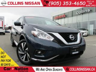 Used 2017 Nissan Murano Platinum | EXECUTIVE DEMO | NAVI | PANO ROOF | for sale in St Catharines, ON