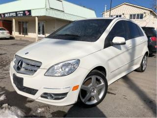 Used 2011 Mercedes-Benz B-Class B200 Turbo NICE LOCAL TRADE IN!! for sale in St Catharines, ON