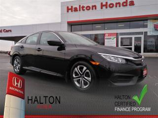 Used 2016 Honda Civic LX|SERVICE HISTORY ON FILE|ONE OWNER for sale in Burlington, ON