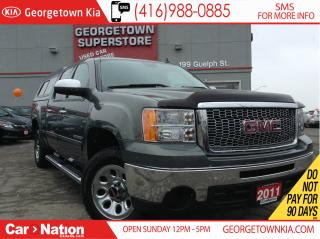 Used 2011 GMC Sierra 1500 SL | CREW | 4.8L V8 | 6 PASS | CAP | for sale in Georgetown, ON