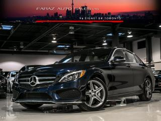 Used 2015 Mercedes-Benz C-Class C400 AMG|NAVI|BURMESTER|BLINDSPOT|REAR CAM|PANO|PUSH START for sale in North York, ON