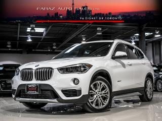 Used 2017 BMW X1 2.8i|REAR CAM|PANO ROOF|X-DRIVE|PARKING SENSORS for sale in North York, ON