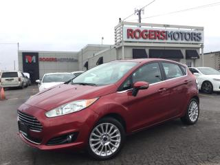 Used 2014 Ford Fiesta TITANIUM - NAVI - LEATHER - SUNROOF for sale in Oakville, ON