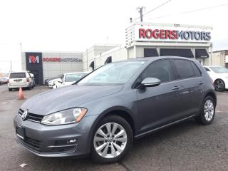 Used 2015 Volkswagen Golf TDI - 6SPD - LEATHER - SUNROOF for sale in Oakville, ON