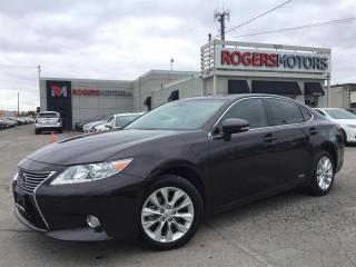 Used 2013 Lexus ES 300 HYBRID - LEATHER - SUNROOF - REVERSE CAM for sale in Oakville, ON