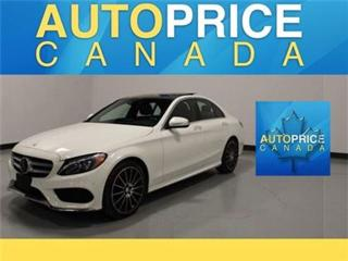 Used 2015 Mercedes-Benz C-Class C400 NAVI PANOROOF REAR CAM LEATHER for sale in Mississauga, ON