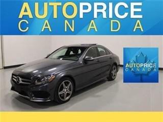 Used 2015 Mercedes-Benz C-Class C300 SPORT PKG NAVI PANROOF for sale in Mississauga, ON