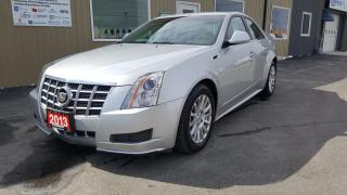 Used 2013 Cadillac CTS Luxury-AWD-PANORAMIC SUNROOF-OFF LEASE for sale in Tilbury, ON