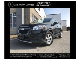 Used 2013 Chevrolet Trax LT AUTO, BLUETOOTH, ALLOYS, A/C, POWER GROUP CRUIS for sale in Orleans, ON